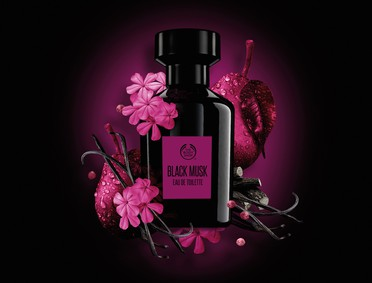 Постер The Body Shop Black Musk