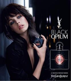 Постер Yves Saint Laurent Black Opium Eau de Parfum