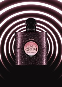 Постер Yves Saint Laurent Black Opium Eau de Toilette