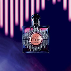 Постер Yves Saint Laurent Black Opium Sound Illusion