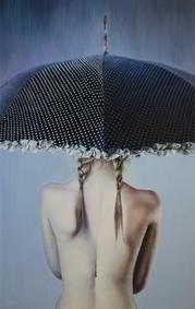 Постер Renier Perfumes Black Rain