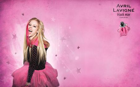 Постер Avril Lavigne Black Star