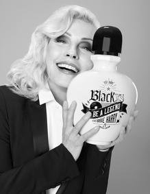 Постер Paco Rabanne Black XS Be a Legend Debbie Harry