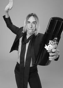 Постер Paco Rabanne Black XS Be a Legend Iggy Pop