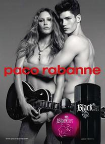 Постер Paco Rabanne Black XS for Her
