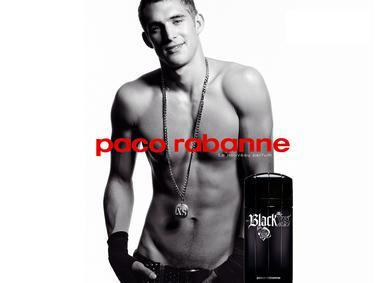 Постер Paco Rabanne Black XS