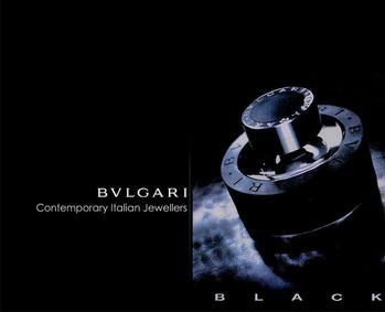 Постер Bvlgari Black