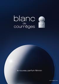 Постер Courreges Blanc De Courrèges
