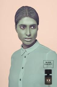 Постер Blood concept XX Metro Velvet