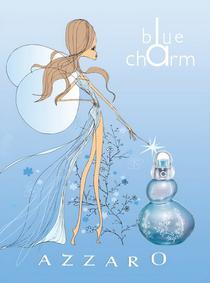 Постер Azzaro Blue Charm