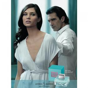 Постер Antonio Banderas Blue Cool Seduction for Women