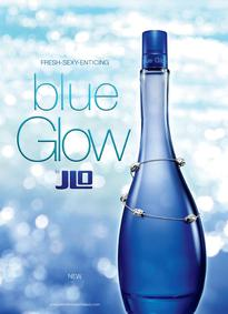 Постер Jennifer Lopez Blue Glow