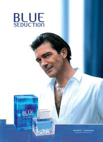 Постер Antonio Banderas Blue Seduction for Men