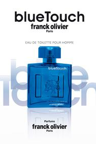 Постер Franck Olivier Blue Touch for Men