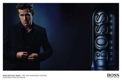 Постер Hugo Boss Boss Bottled Night