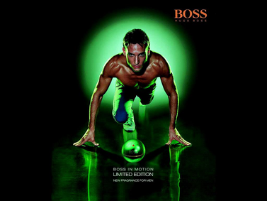 Постер Hugo Boss Boss In Motion