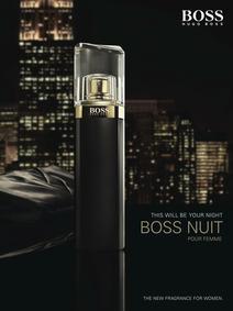 Постер Hugo Boss Boss Nuit pour Femme