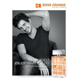 Постер Hugo Boss Boss Orange Man: Feel Good Summer 2013