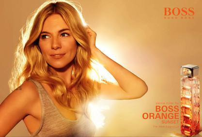 Постер Hugo Boss Boss Orange Woman Sunset