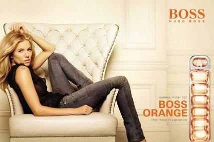 Постер Hugo Boss Boss Orange Woman