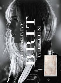 Постер Burberry Brit Rhythm for Her