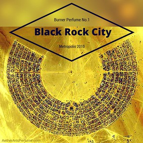 Постер Aether Arts Perfume Burner Perfume No.1: Black Rock City