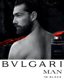 Постер Bvlgari Man In Black