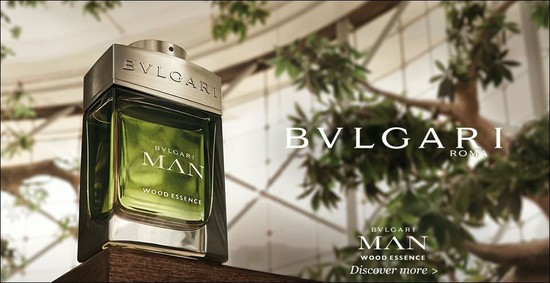 Постер Bvlgari Man Wood Essence