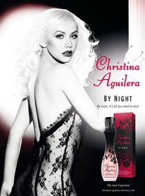 Постер Christina Aguilera By Night
