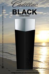 Постер Cadillac Black