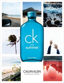 Постер Calvin Klein CK One Summer 2018