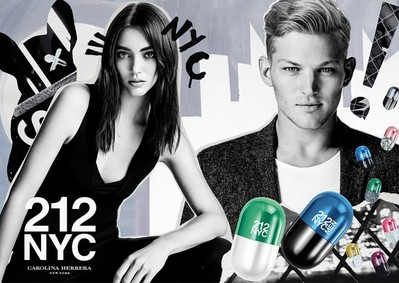 Постер Carolina Herrera 212 Nyc Pills