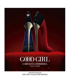 Постер Carolina Herrera Good Girl Velvet Fatale