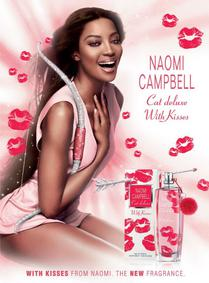 Постер Naomi Campbell Cat Deluxe With Kisses