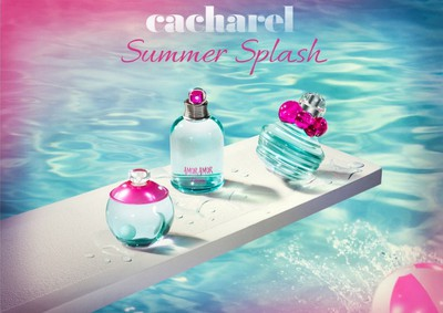 Постер Cacharel Catch Me L'Eau