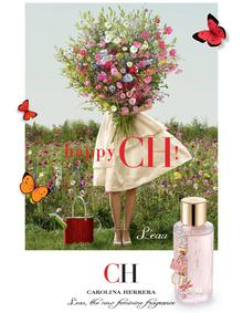Постер Carolina Herrera CH L`Eau