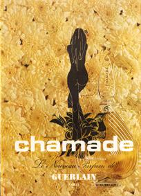 Постер Guerlain Chamade pour Homme