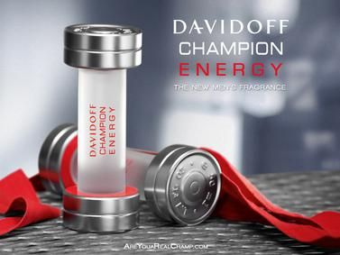 Постер Davidoff Champion Energy