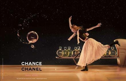 Постер Chanel Chance Eau Vive