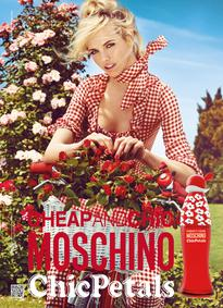 Постер Moschino Cheap And Chic Chic Petals