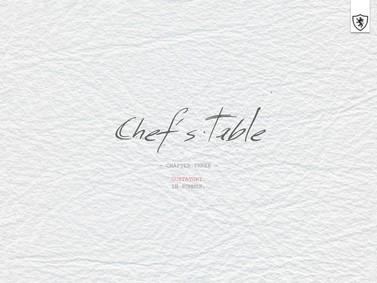 Постер MiN New York Chef's Table