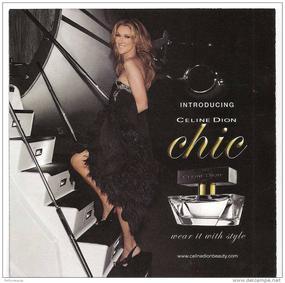Постер Celine Dion Chic