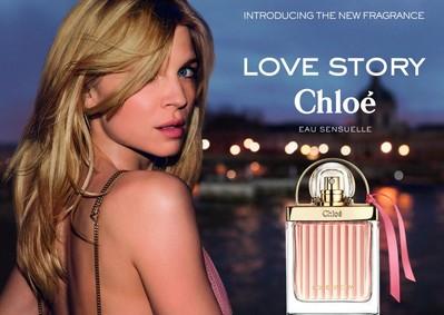 Постер Chloe Love Story Eau Sensuelle