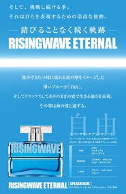 Постер Christian Riese Lassen Risingwave Eternal Splash Blue