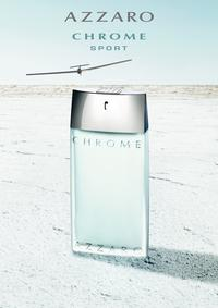 Постер Azzaro Chrome Sport