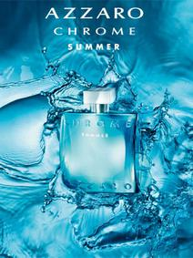 Постер Azzaro Chrome Summer 2012