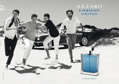 Постер Azzaro Chrome United