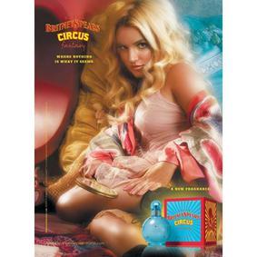Постер Britney Spears Circus Fantasy