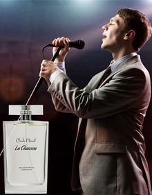 Постер Claude Marsal Parfums La Chanson