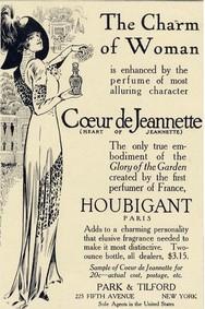 Постер Houbigant Coeur de Jeannette